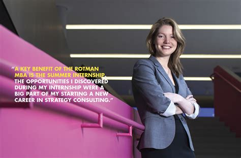 Mba Summer Internship Toronto by Meet Some Recent Grads Rotman School Of Management