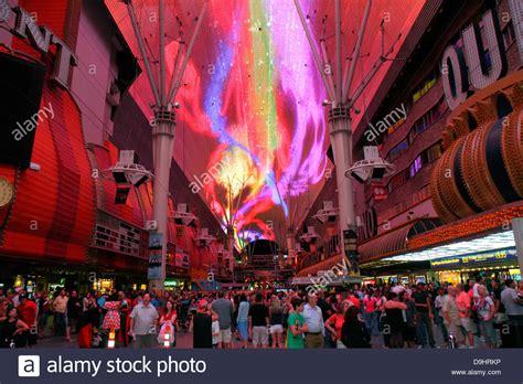 las vegas fremont light nevada las vegas downtown fremont experience