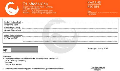 Faktur By Jaya Makmur Si26 13 contoh bentuk kwitansi pembayaran update