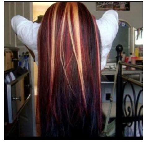 long hairstyles red highlights 12 beautiful blonde hairstyles with red highlights