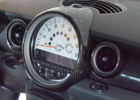 Cover Spido Spidometer Mio Sporty Carbon Cover Speedometer Mio Carbon 2 mini cooper carbon fiber speedometer and outer ac vent ring covers