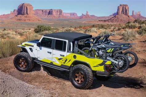 2020 Jeep Gladiator Yellow by 2019 Easter Jeep Safari Concepts All Gladiator All The