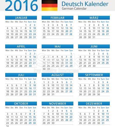 art design kalender 2015 german calendar 2016 deutsch kalender 2016 stock vector