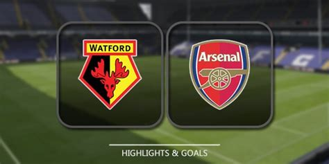 arsenal watford head to head prediksi arsenal vs watford 11 maret 2018 indogol