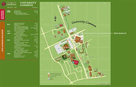 ull housing university of louisiana at lafayette cus map map