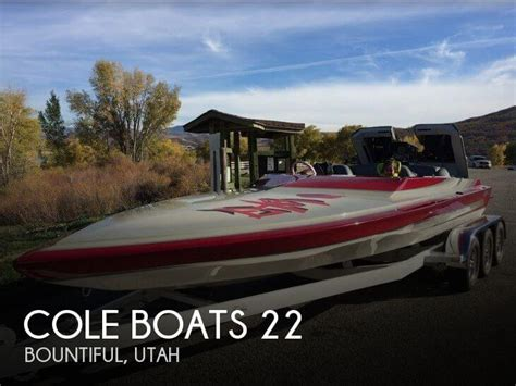 used fishing boats for sale utah for sale used 1991 cole boats 22 in bountiful utah