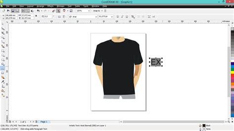 membuat desain baju online tutorial corel draw x4 desain baju