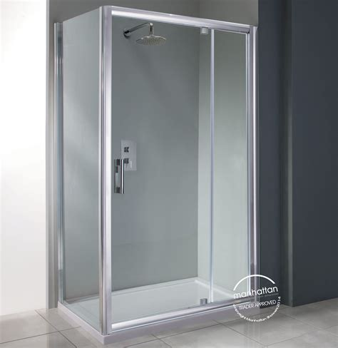 Shower Doors 1200mm Manhattan 6 Pivot Shower Door 1200mm