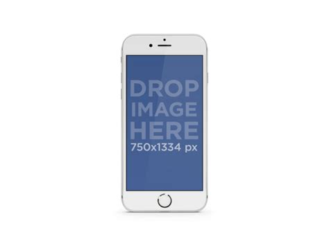 Plating Transparant Soft For Iphone 7 Plus iphone mockups for your social app marketing placeit