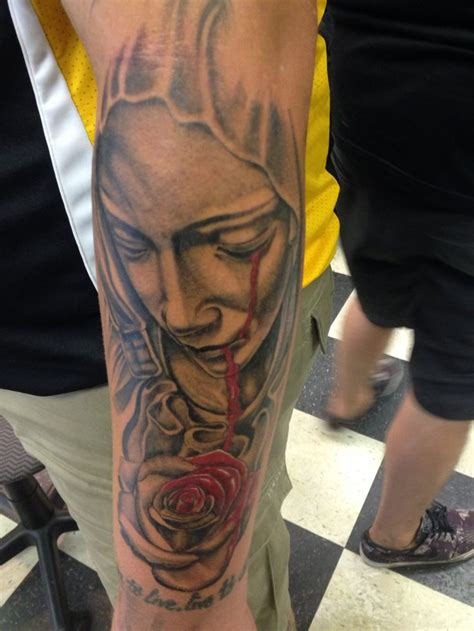 religious rose tattoos best 25 religious sleeves ideas on jun