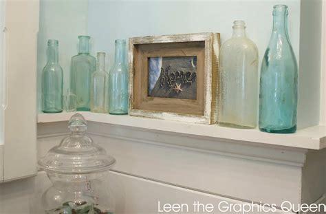 sea glass inspired coastal bathroom remodel sand dollar lane