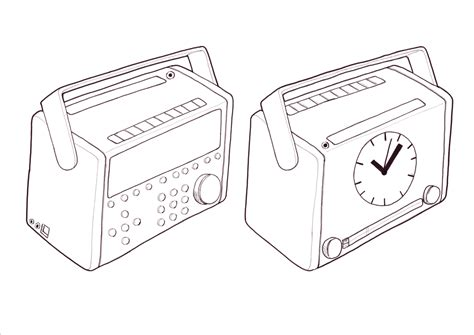 sketchbook radio product design sketches by nick warne at coroflot