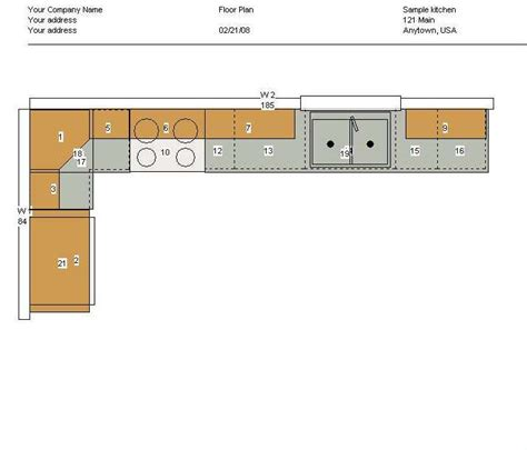 kitchen floor plans exles screenshots