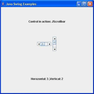 java swing scrollbar 1000 sourcecode download how to use swing in java