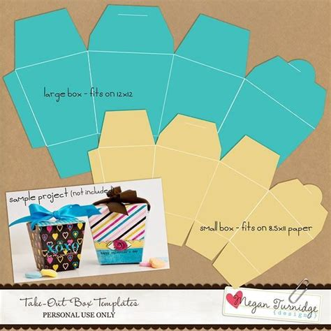 pretty homemade gift boxes templates tutorials just