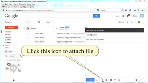 Gmail Search For Emails With Attachments How To Send Email Via Gmail With File Attachment