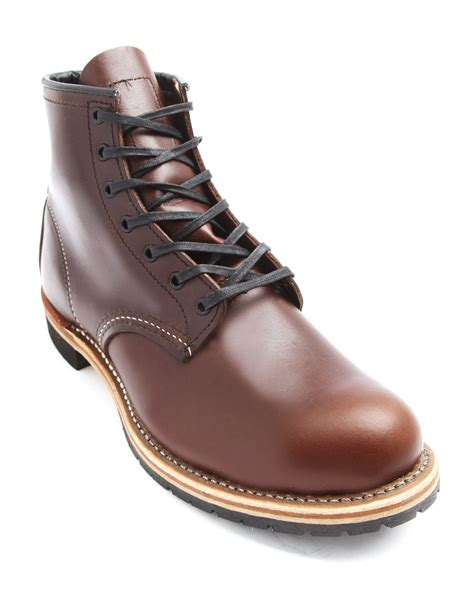 wing boots for wing beckman brown boots in brown for lyst