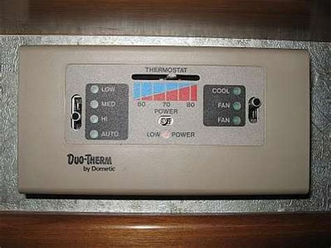 solved wiring diagram for duo therm thermostat fixya
