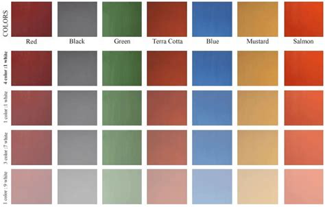 milk paint colors traditional blend milk paint colors home