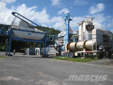Maritime Mba Usa by Used Benninghoven Mba 160 Asphalt Mixing Plants Year 2001