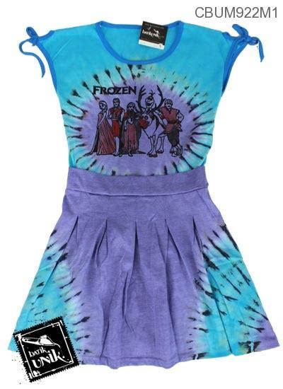 Rok Jumpsuit jumpsuit rok motif kartun jumpsuit murah batikunik