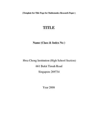 cover page format for research paper term paper cover page tips from 3 research pros essaytown