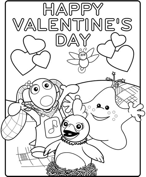 happy valentine s day flowers coloring page free kids happy valentines day coloring pages valentine