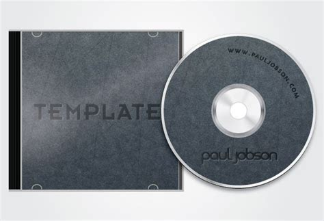 Cd Sleeve Design Template by Free Vector Cd And Cd Cover Design Template Free Psd Files
