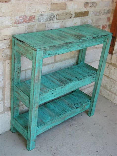 pallet entry table diy pallet potting and entry way table pallet furniture diy