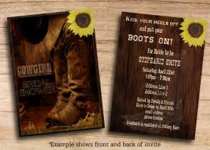 country invitation templates cowboy invitations templates