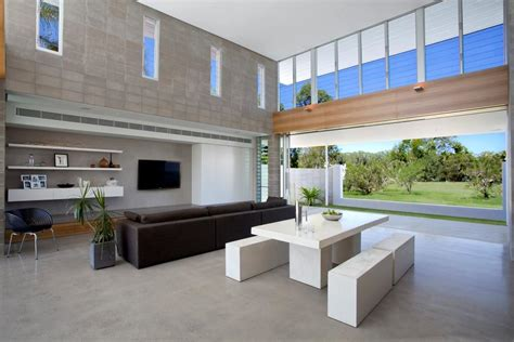 besser block home designs home design with open plan living space and louvre windows
