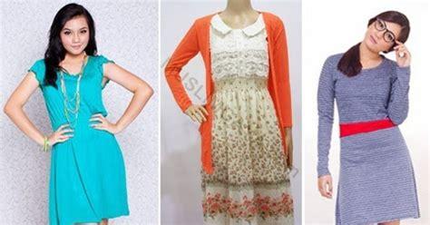 Baju Terusan Wanita H Mes by 7 Gambar Model Baju Terusan Modern Untuk Orang Gemuk