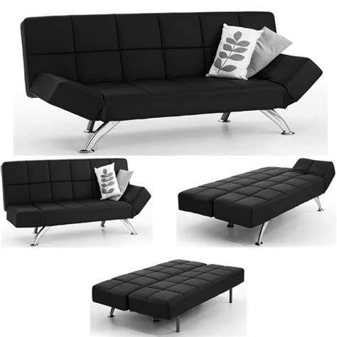 small black leather sofa bed small leather sofa beds uk brokeasshome com