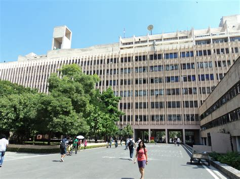 Indian Institute Of Technology Delhi Mba by Present A Tour Of Iit Delhi Dominic In India