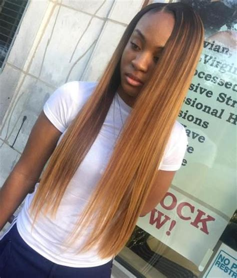 straight red ends sew in hairstyles 417 best sew in inspo hair images on pinterest braids