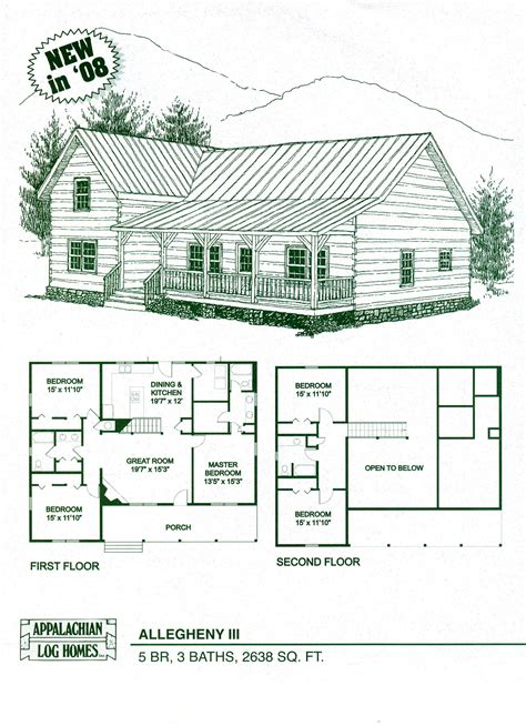 cabin floorplans log home floor plans log cabin kits appalachian log