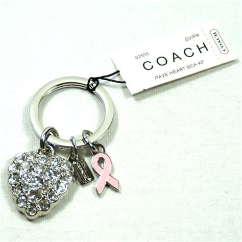 Found Bling Tastic Rhinestone Keyrings by Coach Pave Rhinestone Key Fob Key Chain 92555