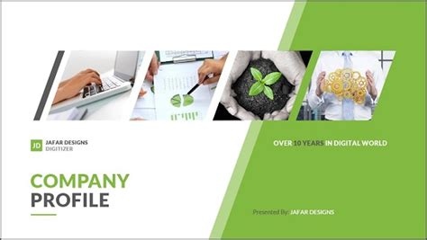 creative company profile layout pdf these powerpoint title slide exles will inspire you