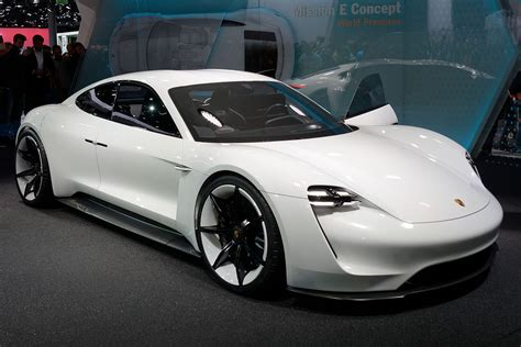 electric porsche porsche mission e