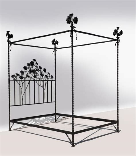 wrought iron canopy bed david ponsler wrought iron canopy bed of roses