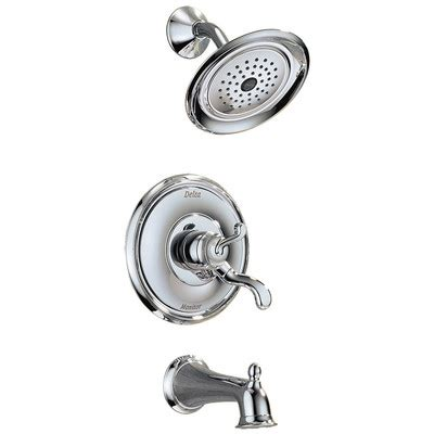 Delta Vessona Kitchen Faucet vessona monitor 17 series tub and shower faucet trim wayfair