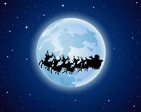 imagenes de santa claus en la luna montar a caballo de pap 225 noel de la silueta en trineo del
