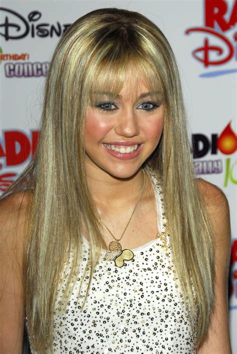 hannah montan hairstyles miley cyrus hannah montana blonde hair long