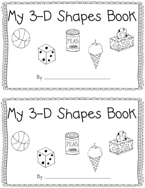 my shapes book learn 2d 3d shapes picture book with matching objects ages 2 7 for toddlers preschool kindergarten fundamentals series books learning with a happy 3 d shapes book with real