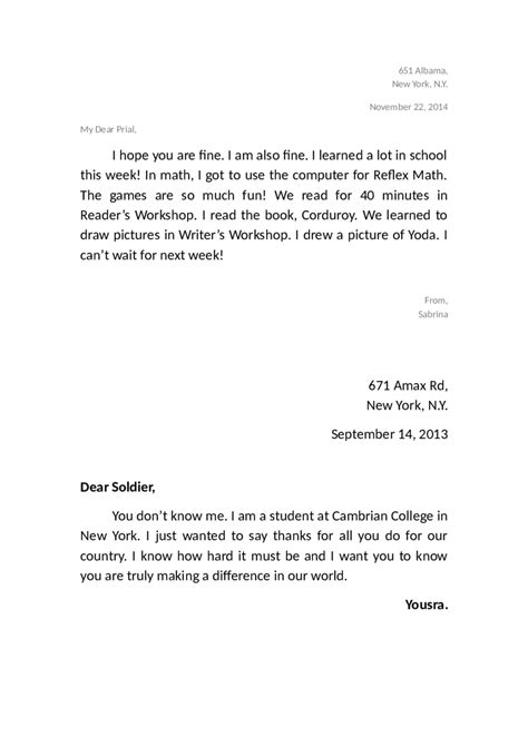 friendly cover letter how to write a friendly letter in mla format cover