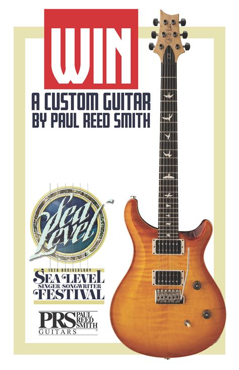Sweepstakes Guitar - paul reed smith ce 24 guitar giveaway tidewater arts outreach