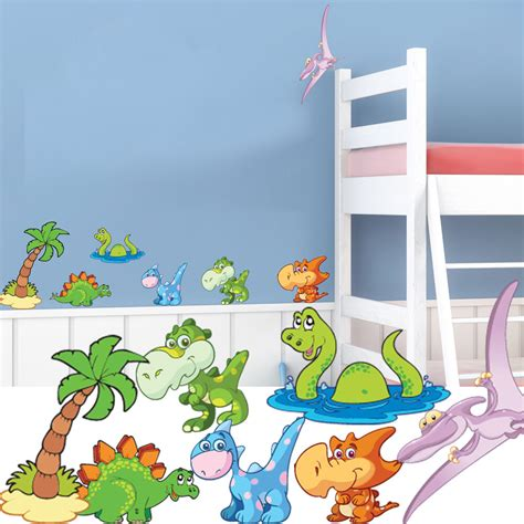 Childrens Bedroom Wall Stickers by Dinosaur Nursery Wall Stickers Childrens Bedroom Decal