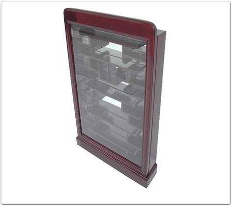 rosewood small display cabinet plain design e style ff7369e