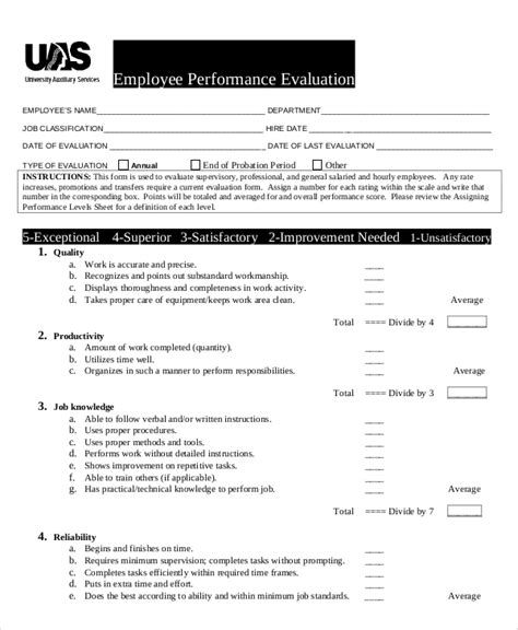 quarterly employee review template quarterly employee review template sle
