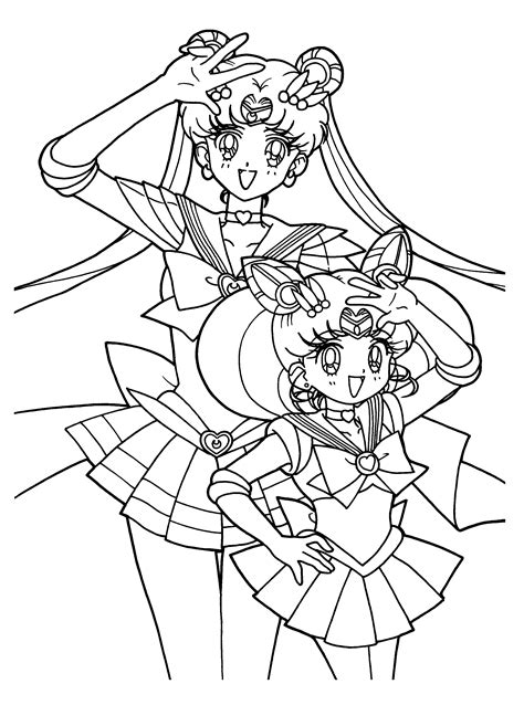 sailor moon coloring book coloring book for and adults 60 illustrations best coloring books volume 31 books sailormoon coloring pages